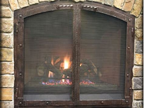 Arch Fireplace Doors by Wrought Iron Patio Furniture Northwest Metalcraft