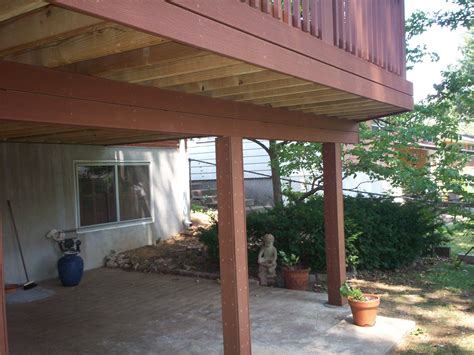 Composite Patio by Composite Deck Patio In St Louis County Beautiful