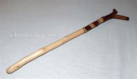 Handcrafted Wands - handcrafted hawthorn wood wand 23 thornfield handcrafted