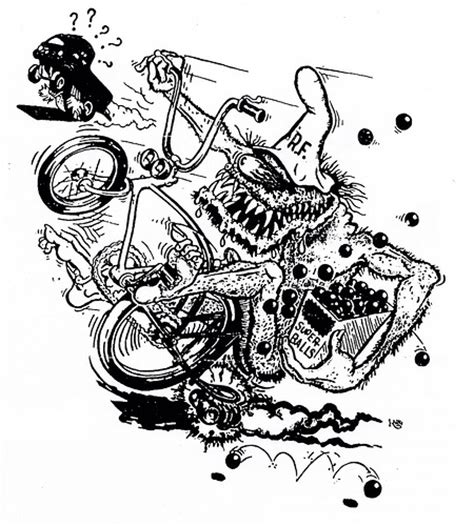Big Daddy Roth Rat Fink Sketch Coloring Page Rat Fink Coloring Pages