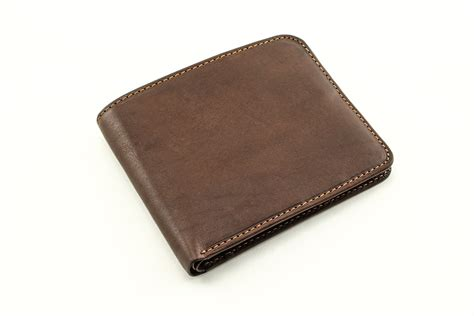 tony perotti handmade italian leather brown prima bi fold