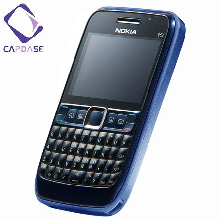 Casing Nokia E63 Oc capdase alumor metal for the nokia e63 blue