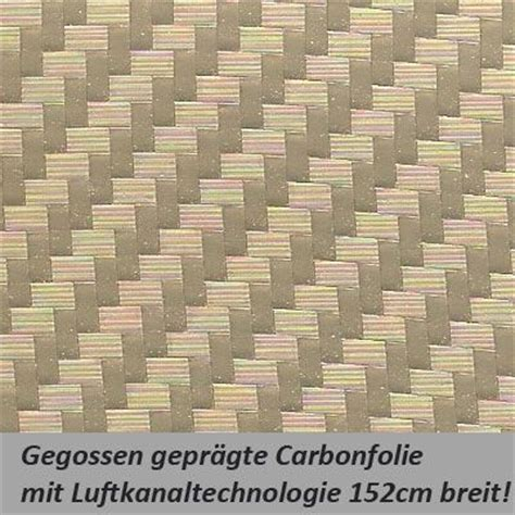 Carbon Folie Goud by Car Wrapping Carbonfolie Gold