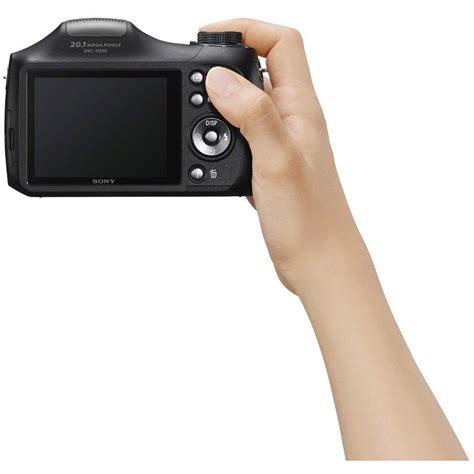 Sony Dsc H300 Cyber Digital Black sony cyber dsc h300 digital black 16gb kit
