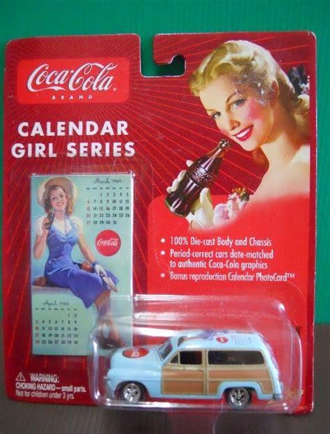 Coca Cola 1949 Mercury Johnny Lightning dexters diecasts dexdc johnny lightning coke calendar 4 1950 mercury woody