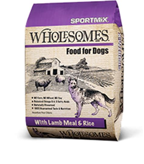 sportmix wholesomes food wholesomes large breed chicken meal rice formula sportmix 174