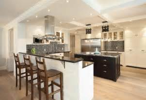 modern kitchen designs with island seating trend home ekd kitchen designs