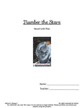 Number The Stars Unit By Samson S Shoppe Teachers Pay