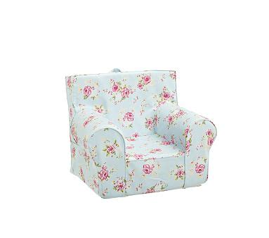 Pottery Barn Anywhere Chair Knock by Floral Anywhere Chair 174 Pottery Barn