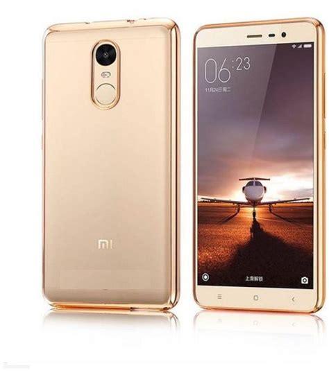 gold chelsea casing redmi note xiaomi redmi note 4 soft silicon cases mercator golden