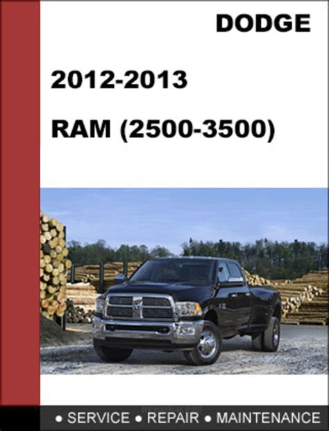 manual repair free 1996 dodge ram 2500 electronic valve timing dodge ram hd 2500 3500 2012 2013 factory service workshop repair ma