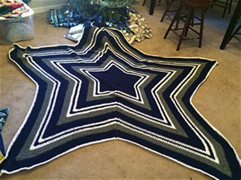 pattern maker dallas ravelry dallas cowboy s star blanket pattern by celeste