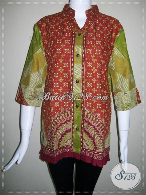 Sprei Batik Halus T T S baju batik tulis halus asli batik blus batik kerja