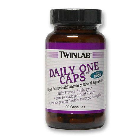 Suplemen Twinlab Twinlab Daily One Caps 90 Capsules Evitamins