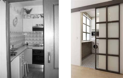 antes despues cocina reforma vintage reforma integral de un piso peque 241 o estilo vintage