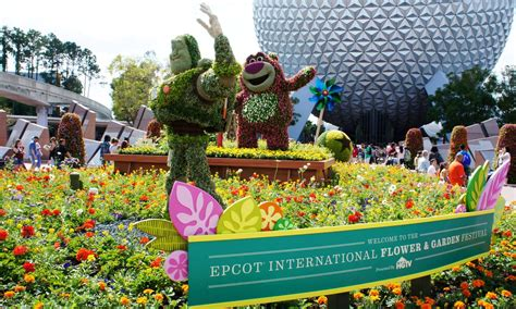 Epcot International Flower Garden Festival 2013 Epcot International Flower Garden Festival March 6 May 19 Blooms With New Features