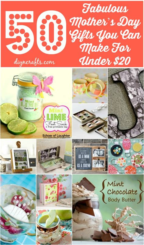 20 dollar gifts for christmas mom 50 fabulous s day gifts you can make for 20 diy crafts
