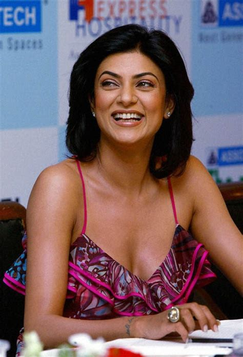 sushmita sen thoughts you want to change the world but you can t there are so