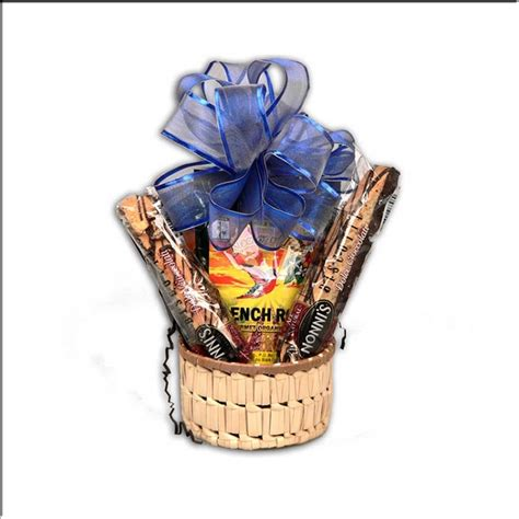 Gourmet Organic Coffee Holiday Gift Basket with Biscotti