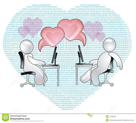 images of virtual love virtual love royalty free stock image image 17338156