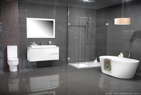 modern bathroom color szara 蛯azienka nowoczesna i elegancka 蛛azienki