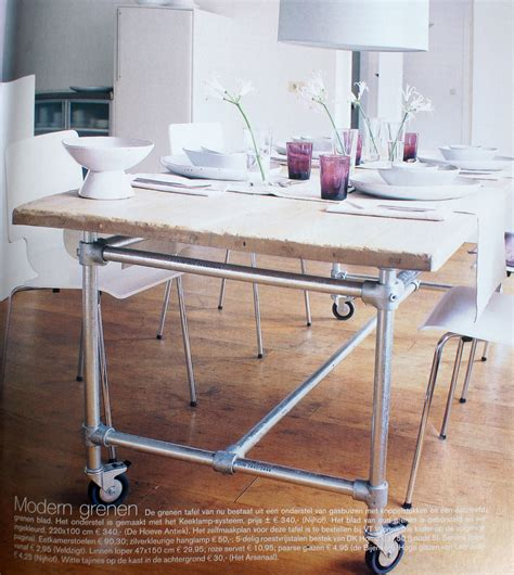 Diy Pipe Table by Diy Tables Pipe Diy Pipe Tables Tables Pipe Kitchens