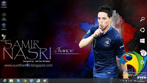 themes new 2014 france national football team 2014 theme for windows 7 and