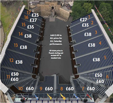 tattoo edinburgh tickets royal edinburgh military tattoo seating plan and ticket prices