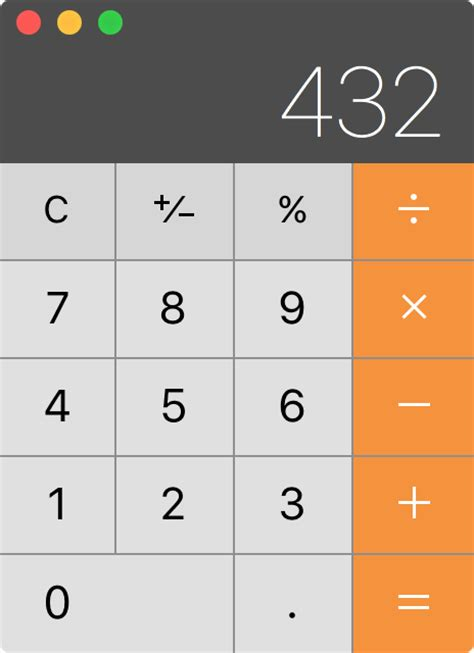 Calc Os tip use your mac s calculator app as a unit converter