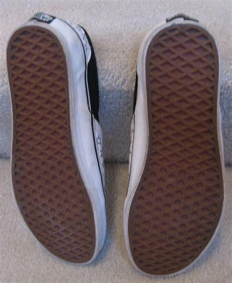 mens patterned vans vans mens star pattern slip on shoes size 8 great shape