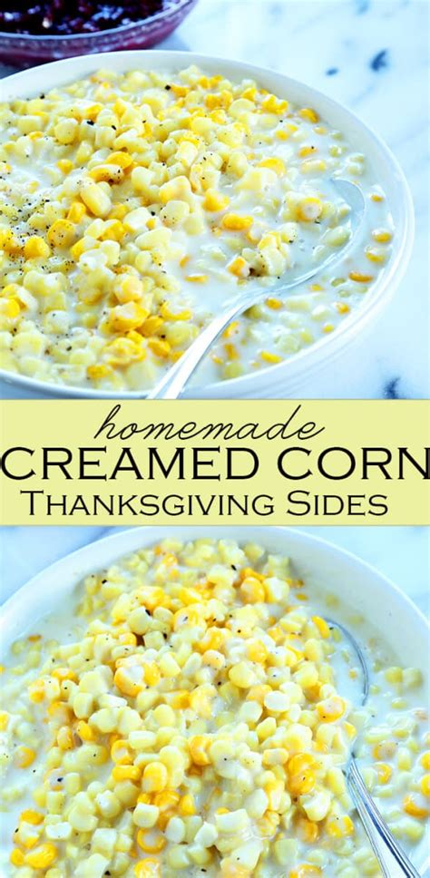 how to make creamed corn without heavy cream