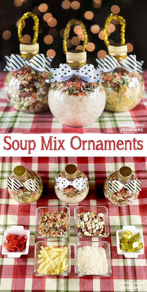 soup mix ornaments recipe warm gifts  meals