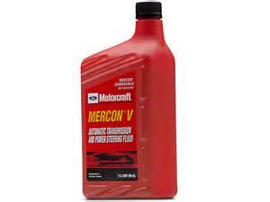 ford motorcraft mercon v mustang oem transmission fluid