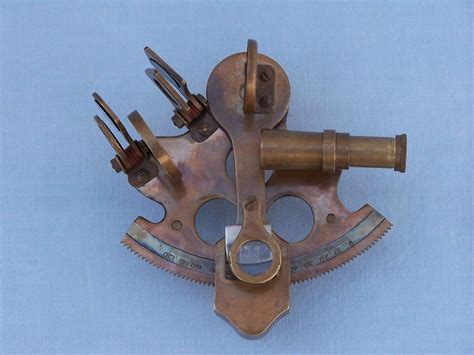 wholesale boutique copper brass collectable handwork get wholesale scout s antique brass sextant with rosewood box