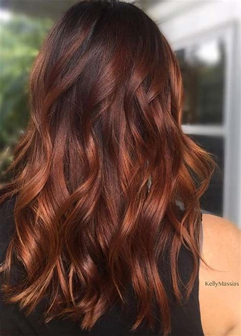 brunette red hairstyles best 20 red brown hair ideas on pinterest