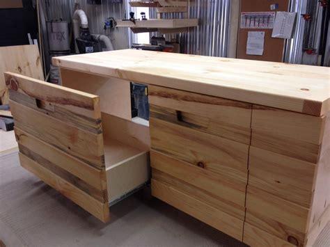 Kitchen Bench Units Pine Kitchen Storage And Bench Unit By Alexandre Lussier