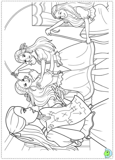 coloring pages barbie three musketeers barbie and the three musketeers coloring page dinokids org