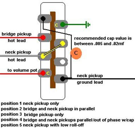 wiring with humbucker pu telecaster guitar forum