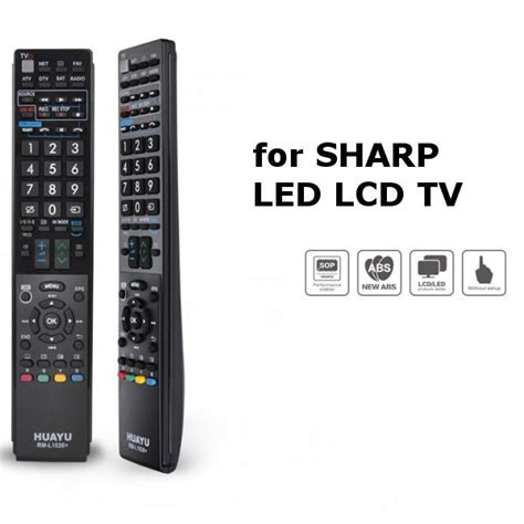 Remot Tv Shap Lcd Led sharp led lcd tv remote replacement unit 3 end 2
