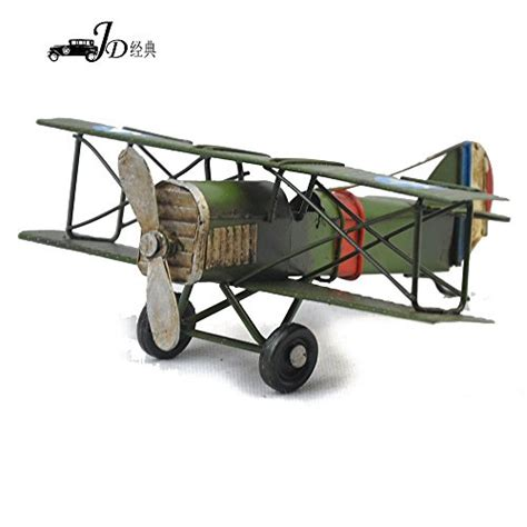 my box vintage retro handicraft metal plane models a