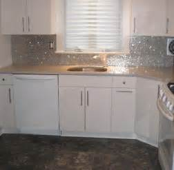 Kitchen Backsplash Stainless Steel Tiles by Going Modern With A Stainless Steel Backsplash Subway