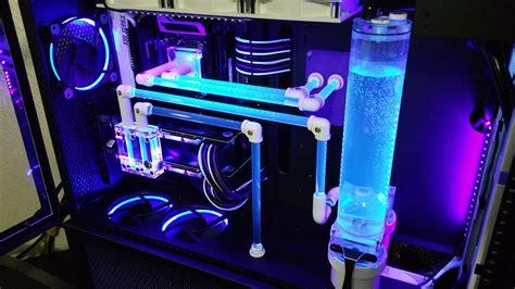 uv custom water cooling loop i did it again