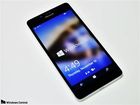 Microsoft Lumia Windows 10 the microsoft lumia 950 review windows central
