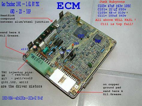 transistor locations 8v ecu transistors guide