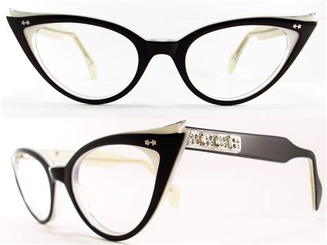 vintage eyeglasses frames eyewear sunglasses 50s january 2011