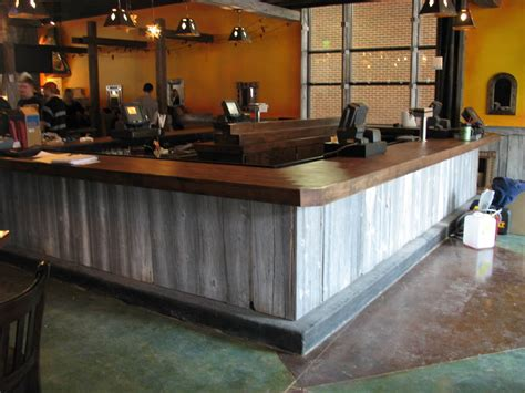 Barnwood Bar Top Barnwood Bar Tasting Room Ideas Bar
