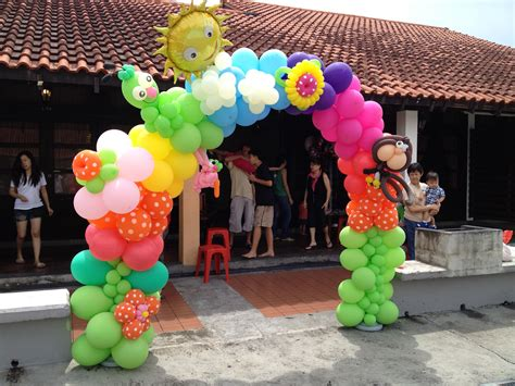Balloon Decorations by Singapore Customised Balloon Arch That Balloons