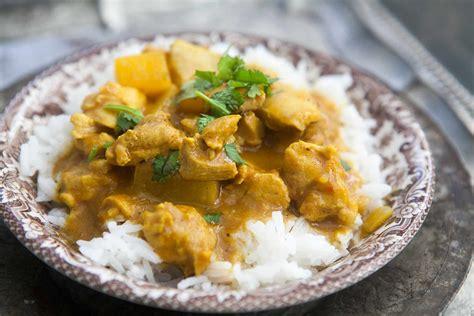 mango chicken curry recipe simplyrecipes com