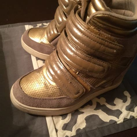 aldo kid shoes aldo stylish wedge sneakers from nicky s closet on poshmark