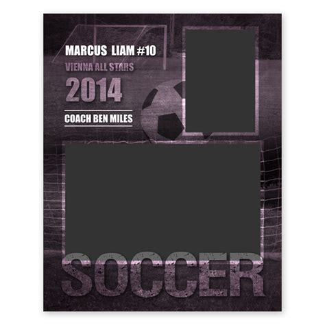 photo book template soccer team memory book quick album soccer sports memory mate template my product catalog